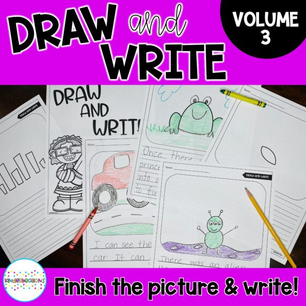 Draw and Write Volume 3 Cover