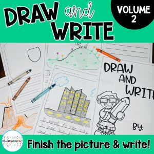 Draw and Write Vol. 3 Cover