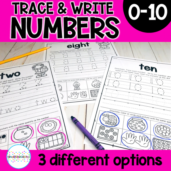 Number Writing 11-20 cover