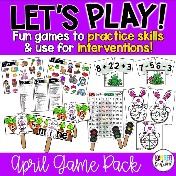 Let's Play! April cover